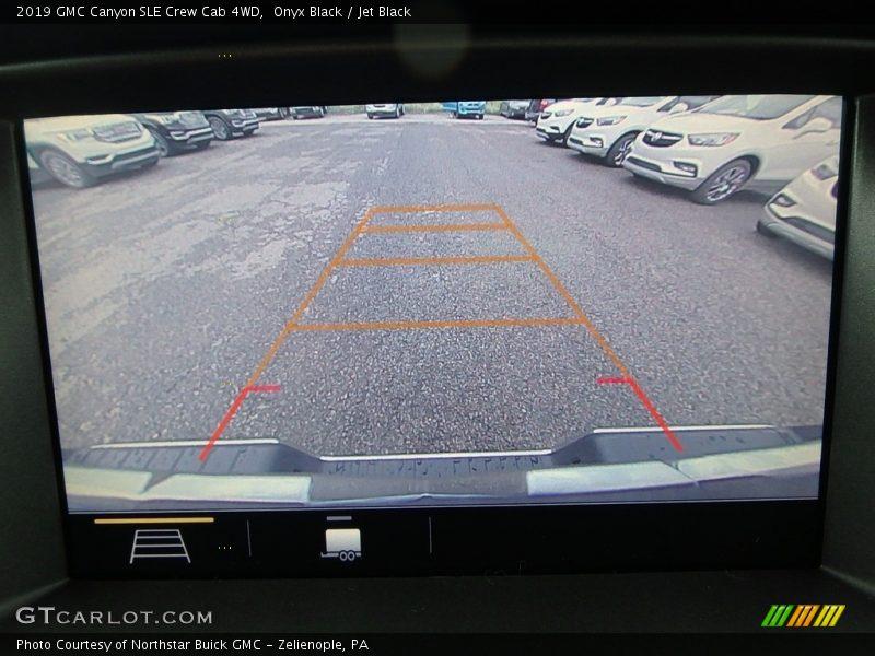 Onyx Black / Jet Black 2019 GMC Canyon SLE Crew Cab 4WD