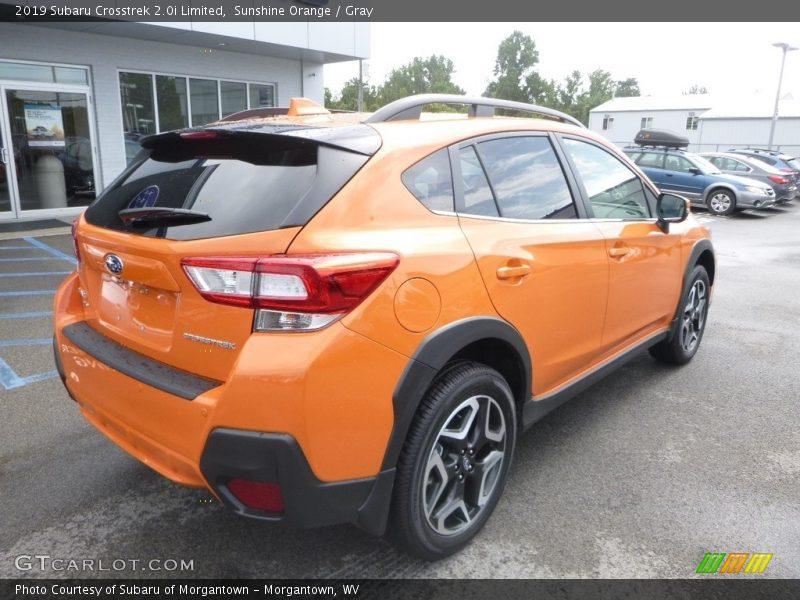 Sunshine Orange / Gray 2019 Subaru Crosstrek 2.0i Limited