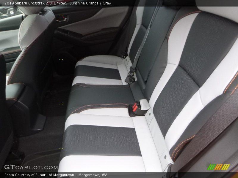 Rear Seat of 2019 Crosstrek 2.0i Limited
