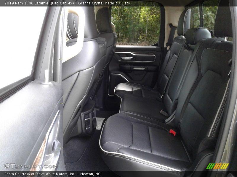 Rear Seat of 2019 1500 Laramie Quad Cab 4x4