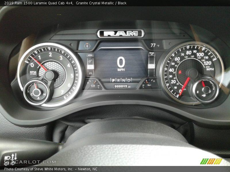2019 1500 Laramie Quad Cab 4x4 Laramie Quad Cab 4x4 Gauges
