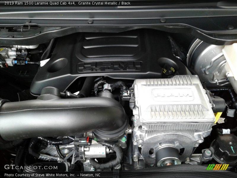 2019 1500 Laramie Quad Cab 4x4 Engine - 5.7 Liter OHV HEMI 16-Valve VVT MDS V8