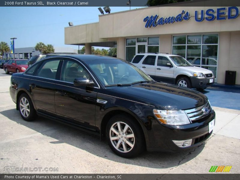 2008 ford taurus sel in black clearcoat photo no 12912767. Black Bedroom Furniture Sets. Home Design Ideas