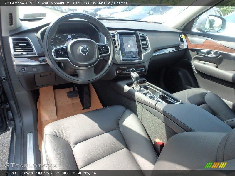 Osmium Grey Metallic / Charcoal 2019 Volvo XC90 T5 AWD Momentum