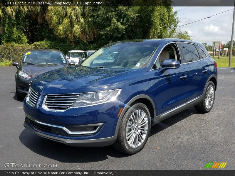 Front 3/4 View of 2018 MKX Reserve