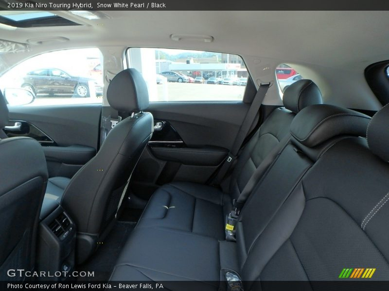 Rear Seat of 2019 Niro Touring Hybrid