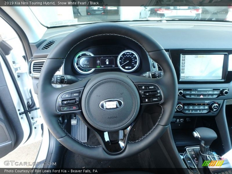 2019 Niro Touring Hybrid Steering Wheel