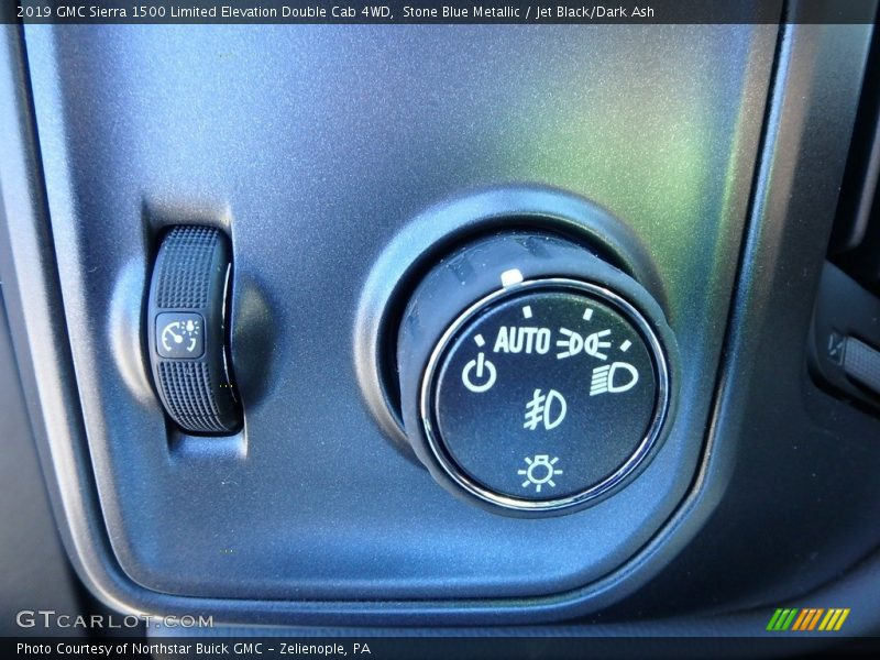 Controls of 2019 Sierra 1500 Limited Elevation Double Cab 4WD
