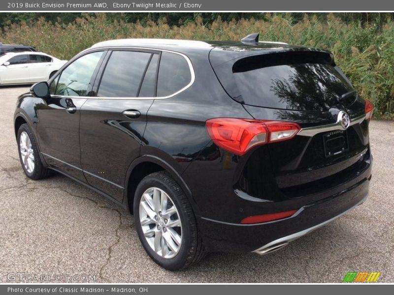 Ebony Twilight Metallic / Ebony 2019 Buick Envision Premium AWD