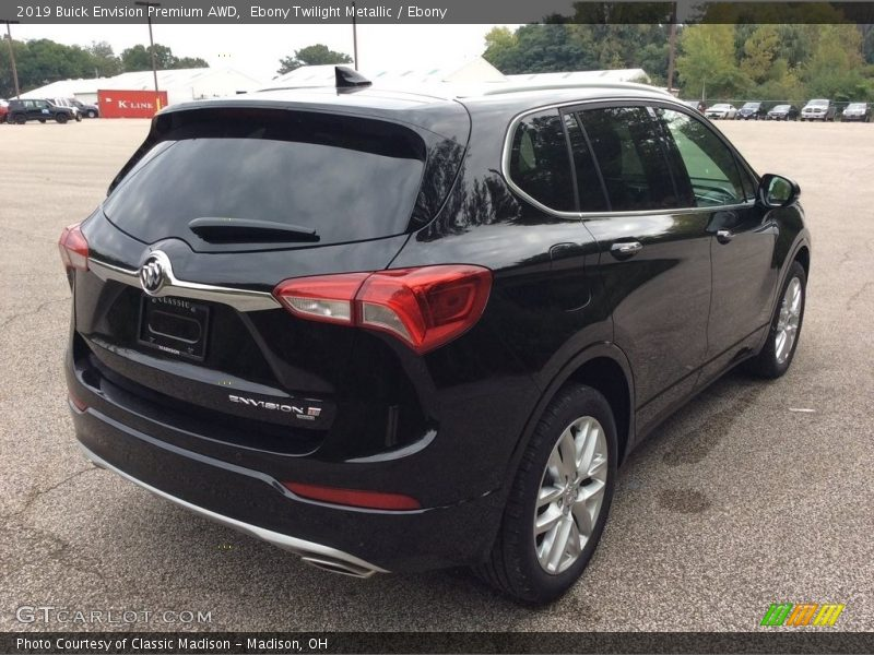 Ebony Twilight Metallic / Ebony 2019 Buick Envision Premium AWD