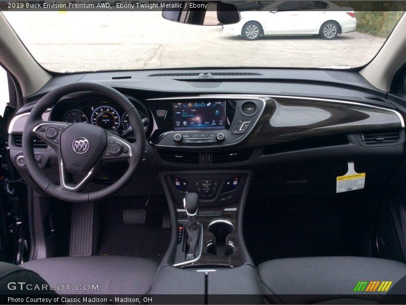 Dashboard of 2019 Envision Premium AWD