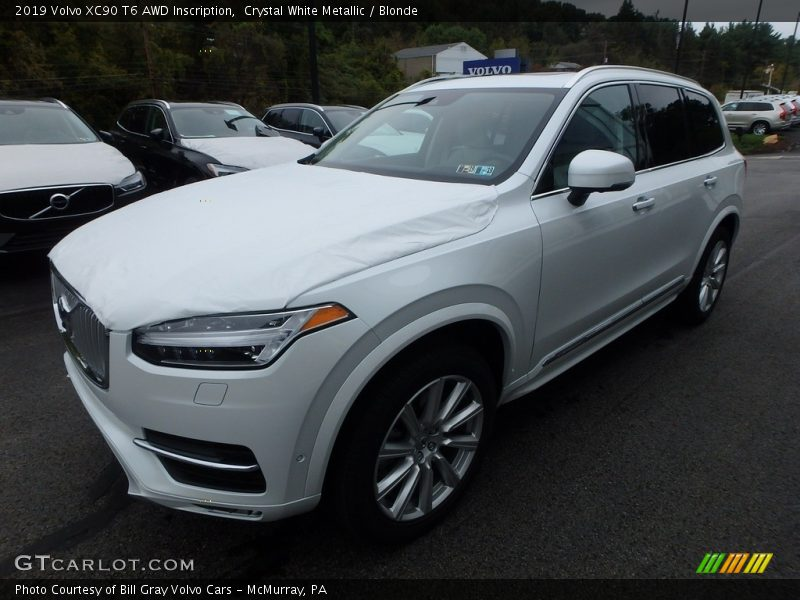 2019 XC90 T6 AWD Inscription Crystal White Metallic