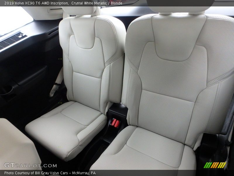 Rear Seat of 2019 XC90 T6 AWD Inscription