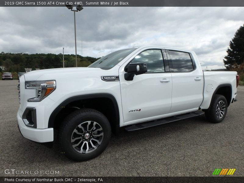 Front 3/4 View of 2019 Sierra 1500 AT4 Crew Cab 4WD