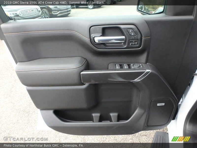 Door Panel of 2019 Sierra 1500 AT4 Crew Cab 4WD