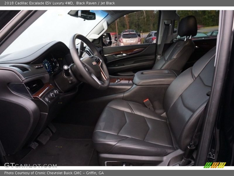 Black Raven / Jet Black 2018 Cadillac Escalade ESV Luxury 4WD