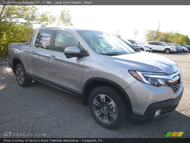 Front 3/4 View of 2019 Ridgeline RTL-T AWD