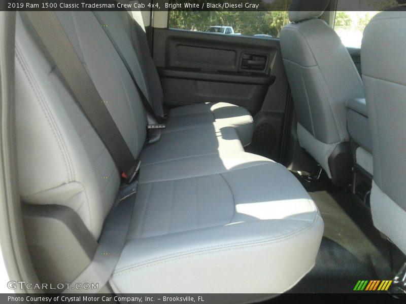 Bright White / Black/Diesel Gray 2019 Ram 1500 Classic Tradesman Crew Cab 4x4