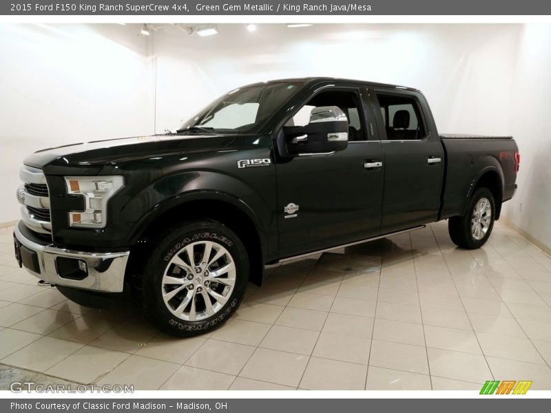 Green Gem Metallic / King Ranch Java/Mesa 2015 Ford F150 King Ranch SuperCrew 4x4