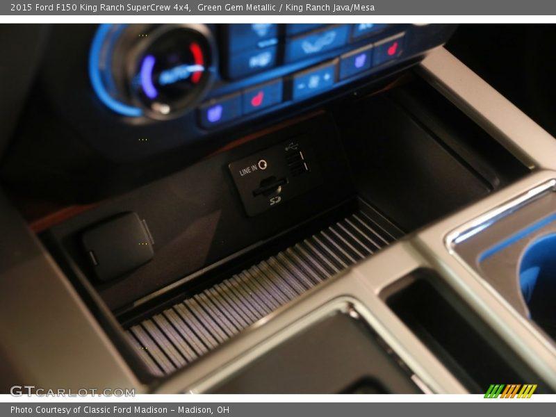 Green Gem Metallic / King Ranch Java/Mesa 2015 Ford F150 King Ranch SuperCrew 4x4