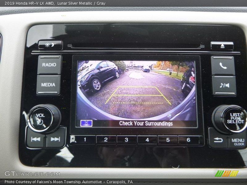 Controls of 2019 HR-V LX AWD