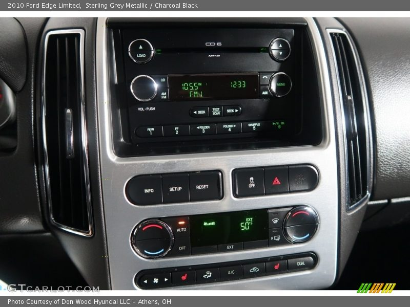 Sterling Grey Metallic / Charcoal Black 2010 Ford Edge Limited
