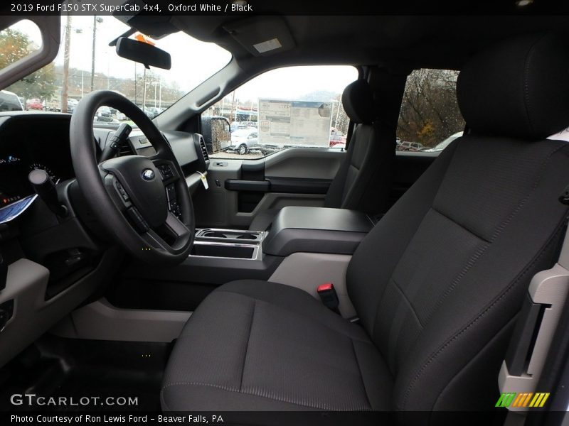 Front Seat of 2019 F150 STX SuperCab 4x4