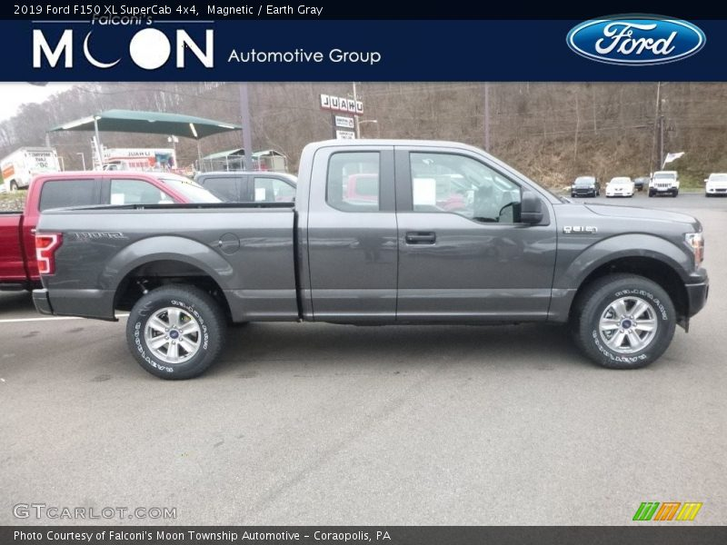 Magnetic / Earth Gray 2019 Ford F150 XL SuperCab 4x4