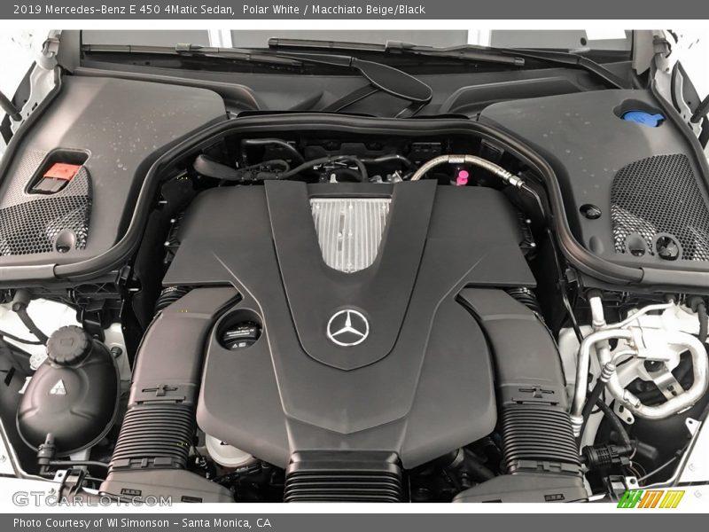 2019 E 450 4Matic Sedan Engine - 3.0 Liter Turbocharged DOHC 24-Valve VVT V6