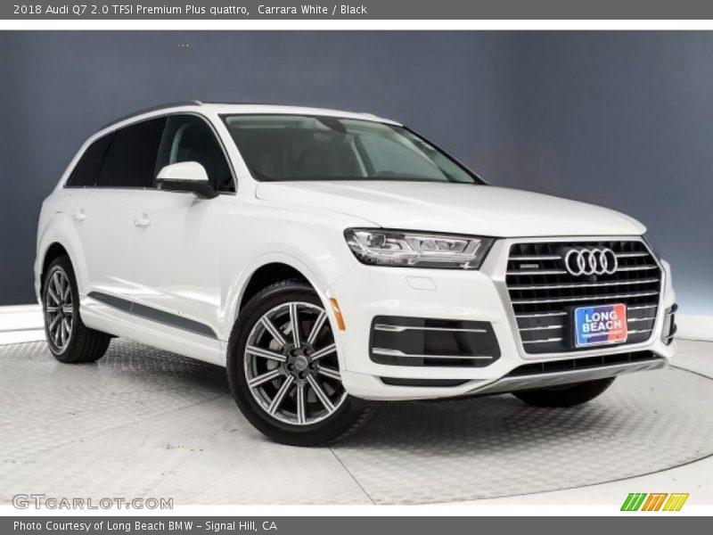 Carrara White / Black 2018 Audi Q7 2.0 TFSI Premium Plus quattro