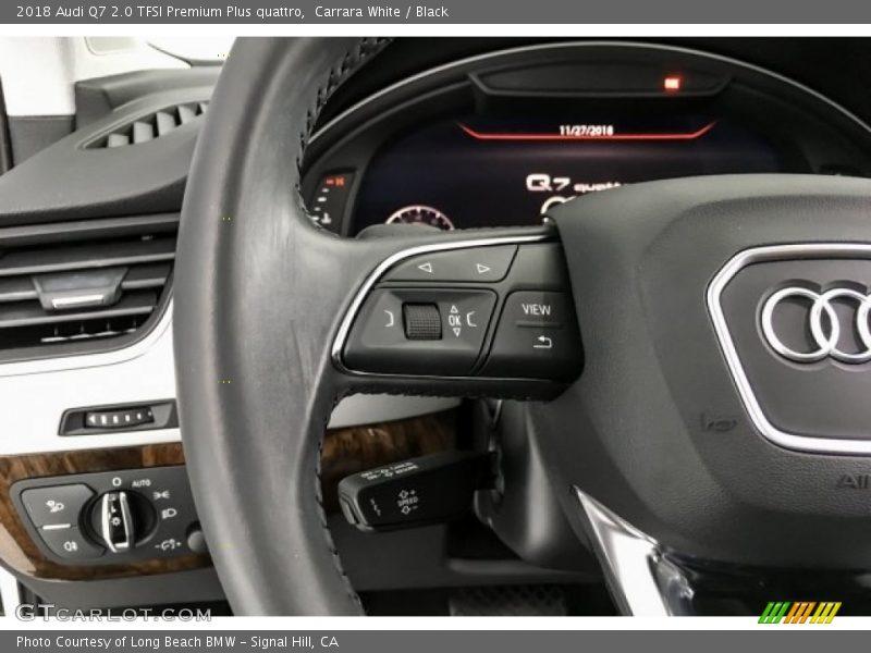 2018 Q7 2.0 TFSI Premium Plus quattro Steering Wheel