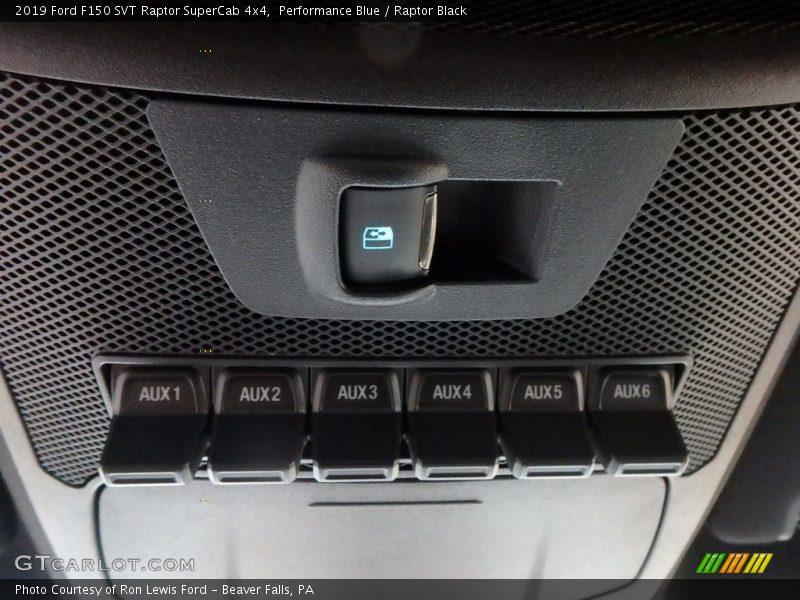 Controls of 2019 F150 SVT Raptor SuperCab 4x4