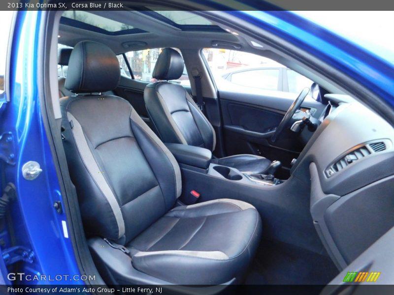 Corsa Blue / Black 2013 Kia Optima SX