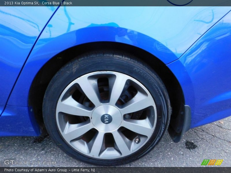 Corsa Blue / Black 2013 Kia Optima SX