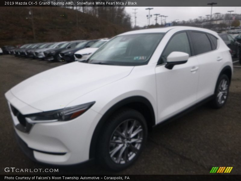 Snowflake White Pearl Mica / Black 2019 Mazda CX-5 Grand Touring AWD