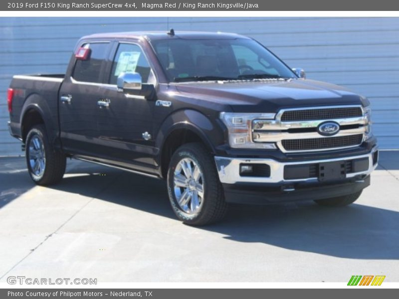 Magma Red / King Ranch Kingsville/Java 2019 Ford F150 King Ranch SuperCrew 4x4