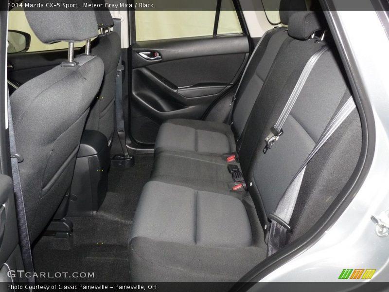 Meteor Gray Mica / Black 2014 Mazda CX-5 Sport