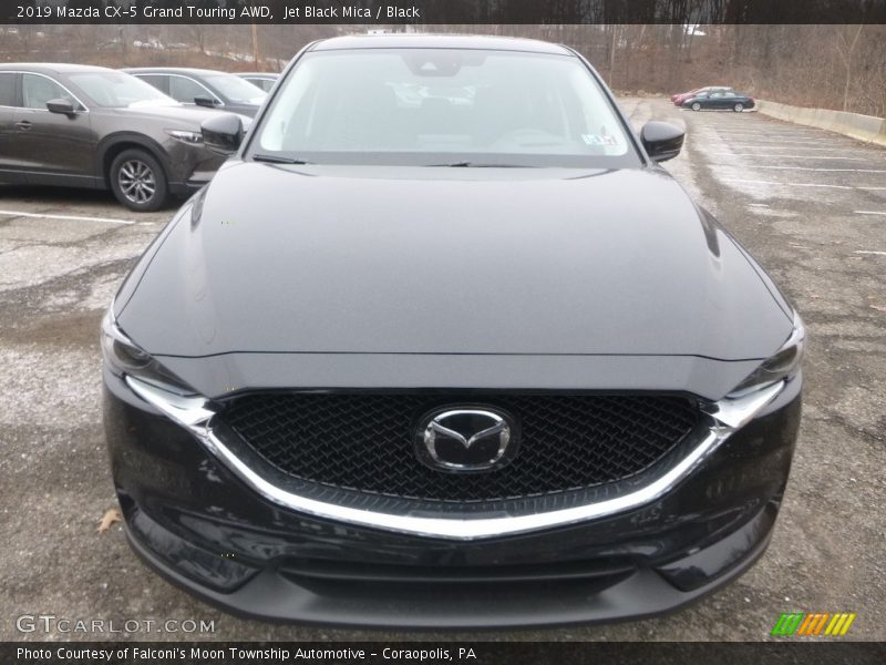 Jet Black Mica / Black 2019 Mazda CX-5 Grand Touring AWD