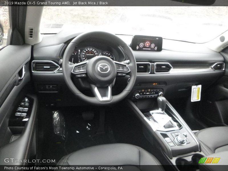 2019 CX-5 Grand Touring AWD Black Interior