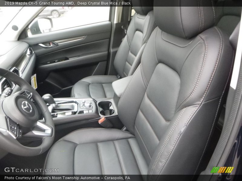 Front Seat of 2019 CX-5 Grand Touring AWD
