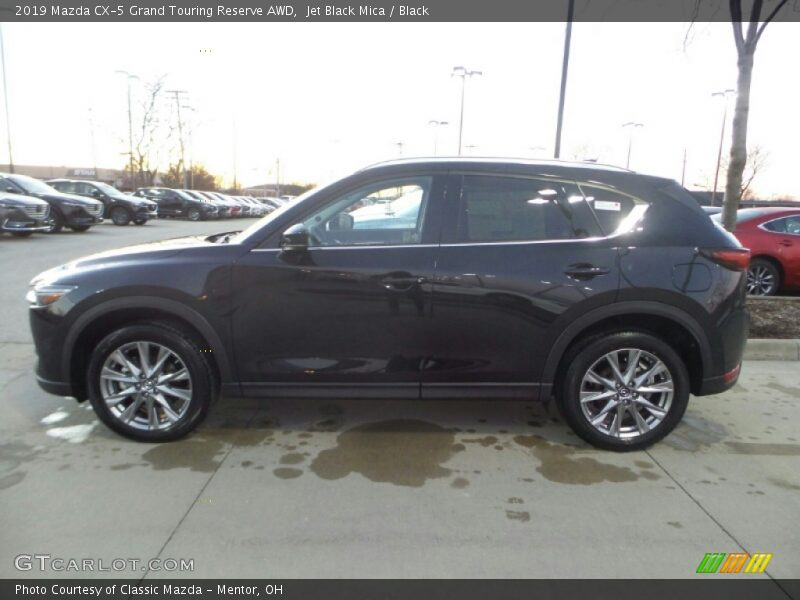 Jet Black Mica / Black 2019 Mazda CX-5 Grand Touring Reserve AWD