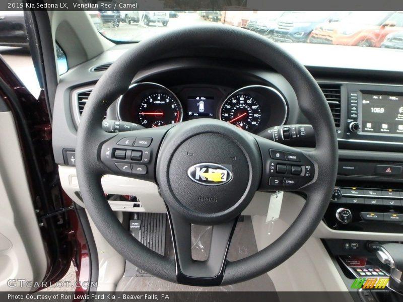 2019 Sedona LX Steering Wheel