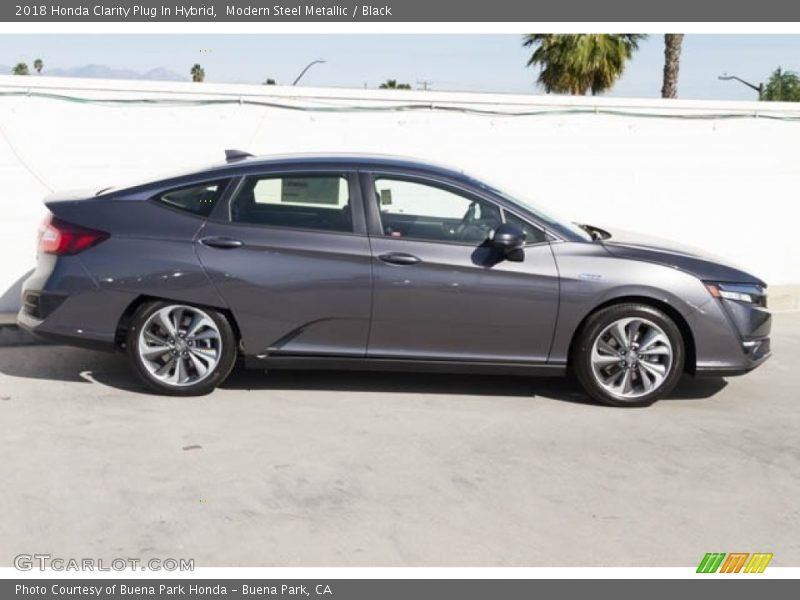 Modern Steel Metallic / Black 2018 Honda Clarity Plug In Hybrid