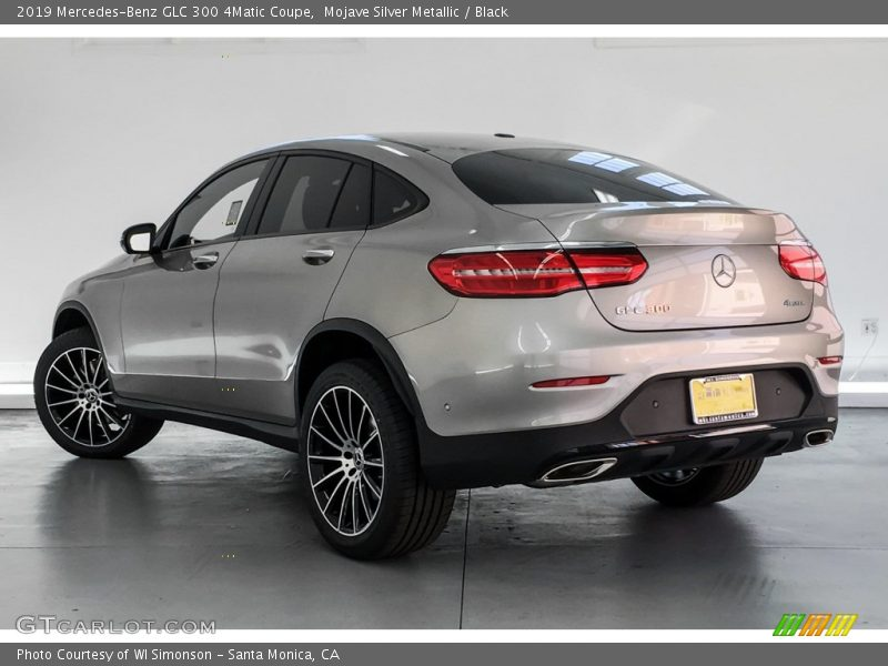 Mojave Silver Metallic / Black 2019 Mercedes-Benz GLC 300 4Matic Coupe