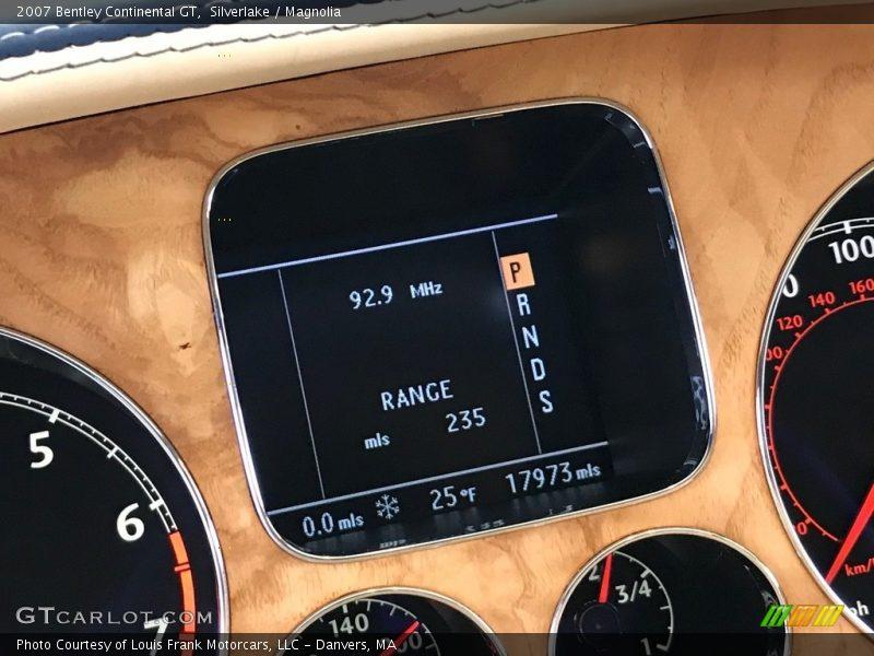 Silverlake / Magnolia 2007 Bentley Continental GT