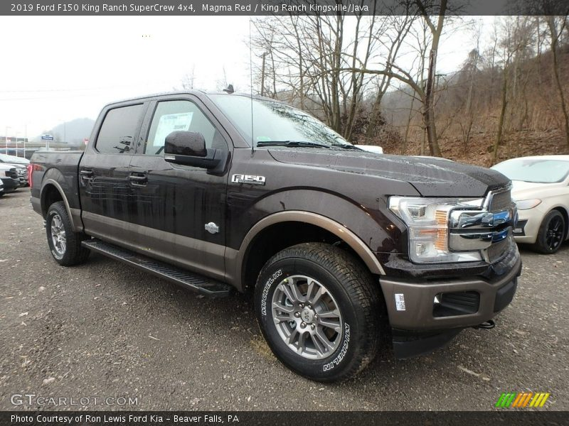 Front 3/4 View of 2019 F150 King Ranch SuperCrew 4x4