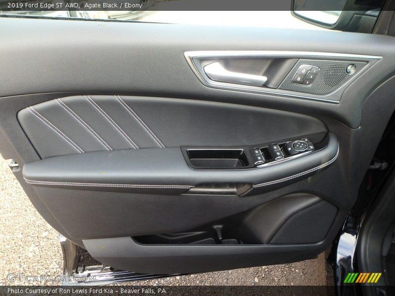 Door Panel of 2019 Edge ST AWD