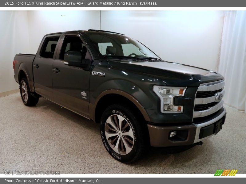 Guard Metallic / King Ranch Java/Mesa 2015 Ford F150 King Ranch SuperCrew 4x4