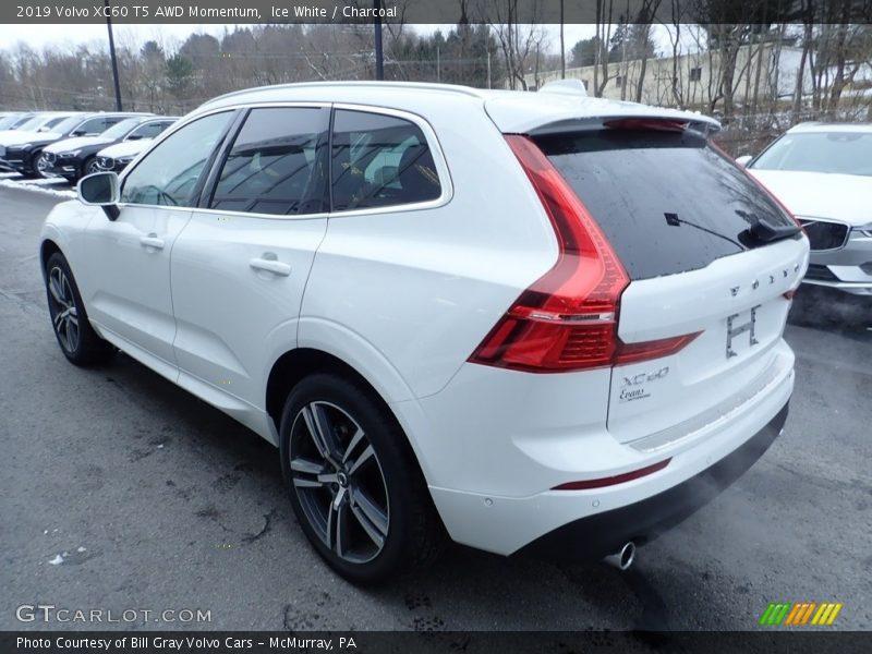 Ice White / Charcoal 2019 Volvo XC60 T5 AWD Momentum