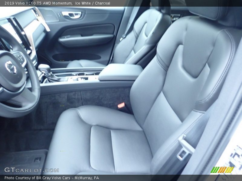 Front Seat of 2019 XC60 T5 AWD Momentum